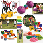 PE in the playground kit